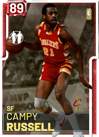 '85 Campy Russell ruby card