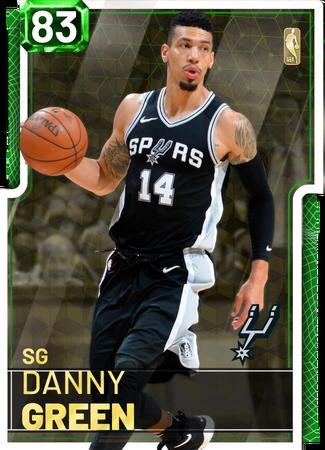 '17 Danny Green emerald card