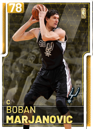 '16 Boban Marjanovic gold card