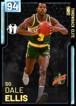 '00 Dale Ellis diamond card