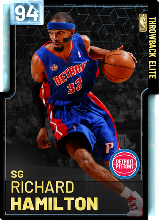 '04 Richard Hamilton diamond card