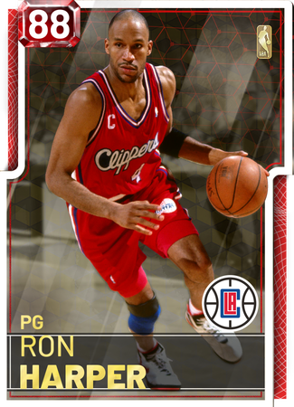 '01 Ron Harper ruby card