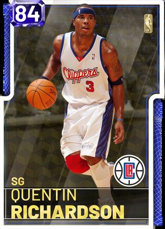 '13 Quentin Richardson sapphire card