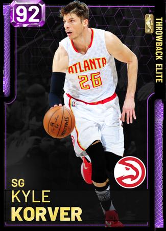 '18 Kyle Korver amethyst card