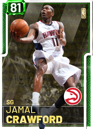 Jamal Crawford emerald card