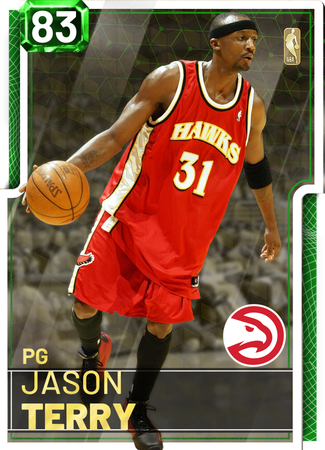'02 Jason Terry emerald card