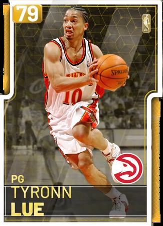 '01 Tyronn Lue gold card