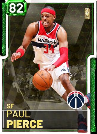'08 Paul Pierce emerald card
