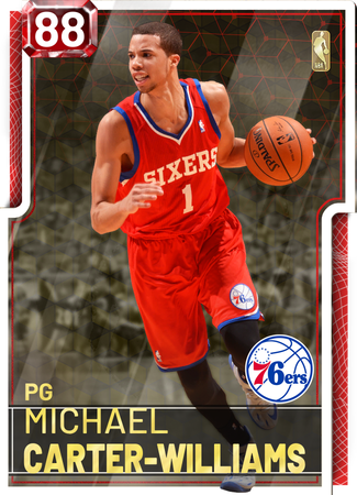 Michael Carter-Williams ruby card