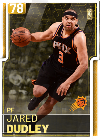 '18 Jared Dudley gold card