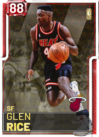 '04 Glen Rice ruby card