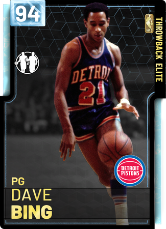 '78 Dave Bing diamond card