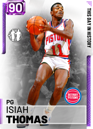 '94 Isiah Thomas amethyst card
