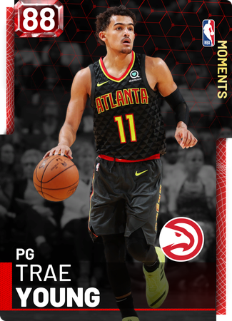 Trae Young ruby card