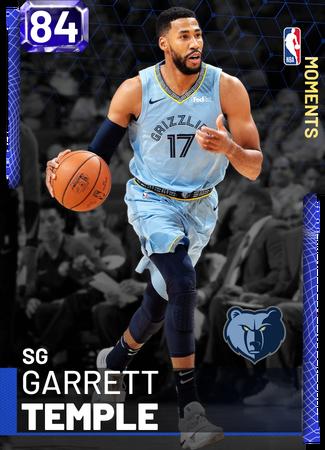 Garrett Temple sapphire card