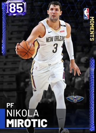 Nikola Mirotic sapphire card