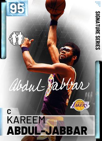 '80 Kareem Abdul-Jabbar diamond card