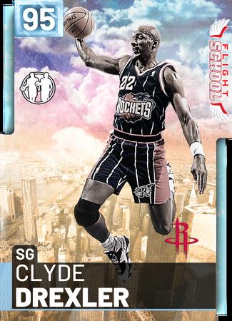 '98 Clyde Drexler diamond card
