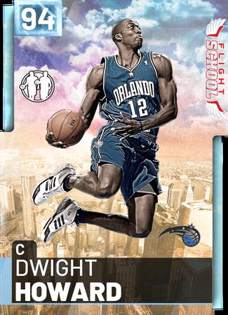 '18 Dwight Howard diamond card
