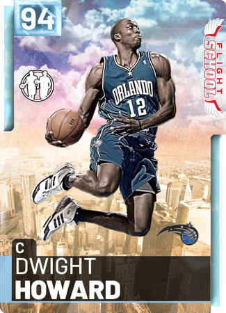 '18 Dwight Howard diamond card