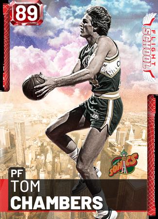 '98 Tom Chambers ruby card
