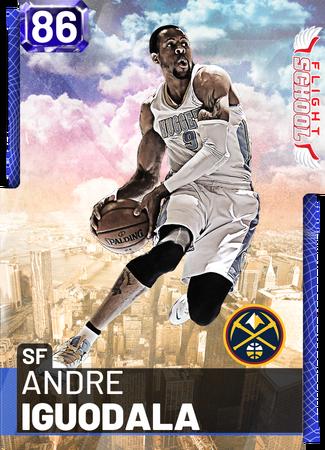 '18 Andre Iguodala sapphire card