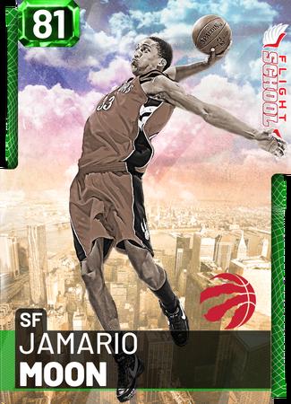 '08 Jamario Moon emerald card