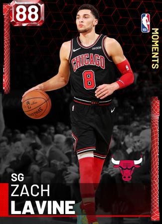 Zach LaVine ruby card
