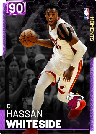 Hassan Whiteside amethyst card