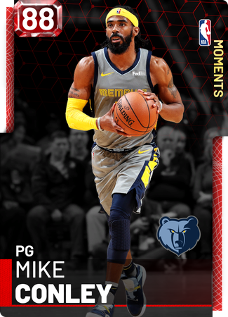 Mike Conley ruby card