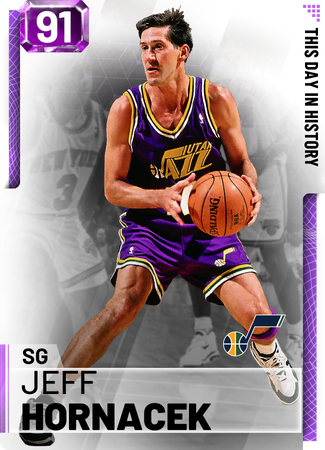 '00 Jeff Hornacek amethyst card