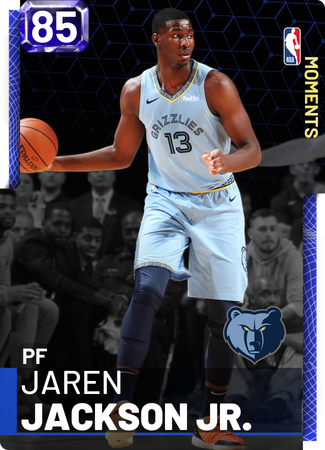 Jaren Jackson Jr. sapphire card