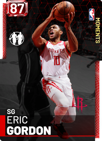 Eric Gordon ruby card