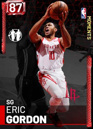 Eric Gordon ruby card