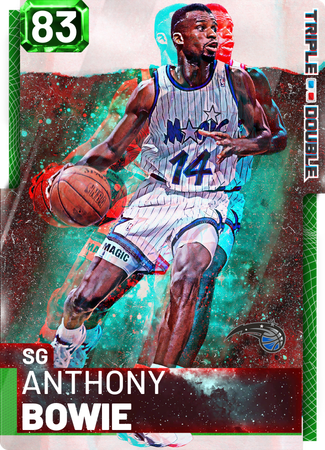 '95 Anthony Bowie emerald card