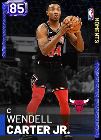 Wendell Carter Jr. sapphire card