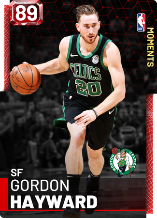 Gordon Hayward ruby card