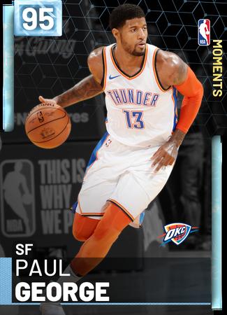Paul George diamond card