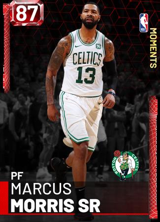 Marcus Morris Sr ruby card