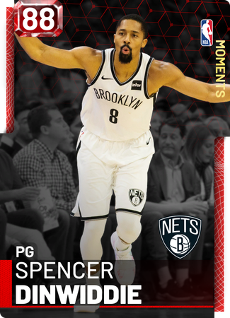 Spencer Dinwiddie ruby card