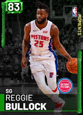 Reggie Bullock emerald card