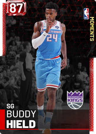 Buddy Hield ruby card