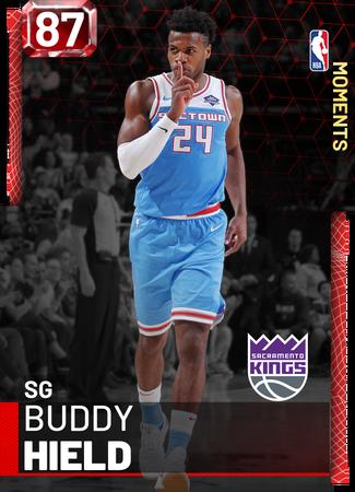 Buddy Hield ruby card