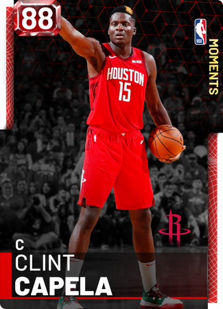 Clint Capela ruby card