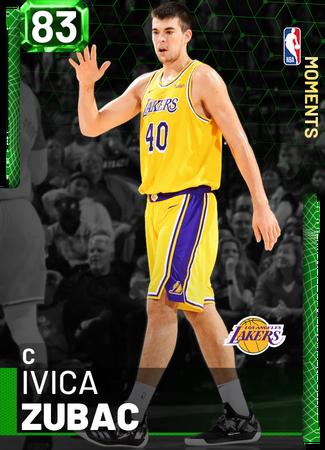 Ivica Zubac emerald card