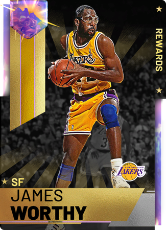 '91 James Worthy opal card