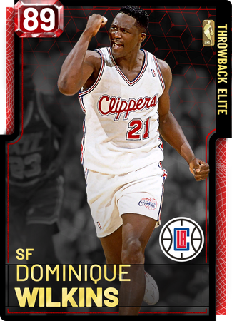 '92 Dominique Wilkins ruby card