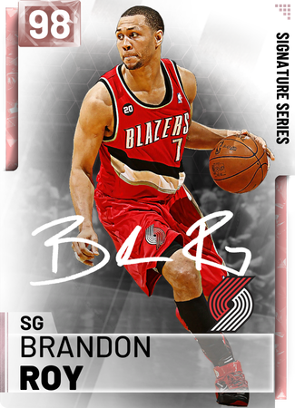 '12 Brandon Roy pinkdiamond card