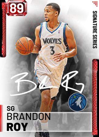'12 Brandon Roy ruby card