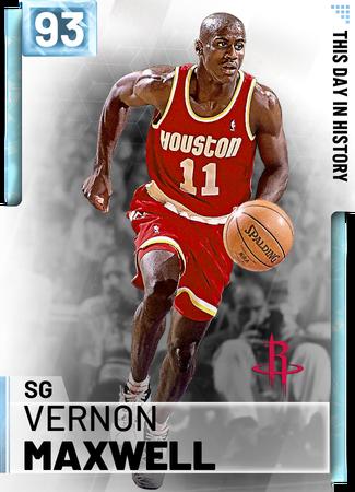 '91 Vernon Maxwell diamond card